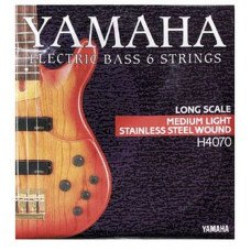 Струны для бас-гитары Yamaha H4070 Stainless Steel Medium Light 6 String 32-126