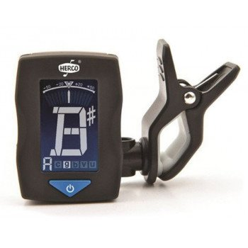 Тюнер Dunlop Herco HE301 Clip-On Chromatic Tuner