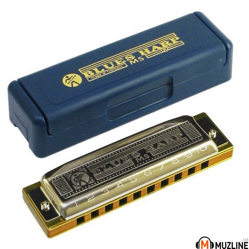 Губная гармошка Hohner Blues Harp G