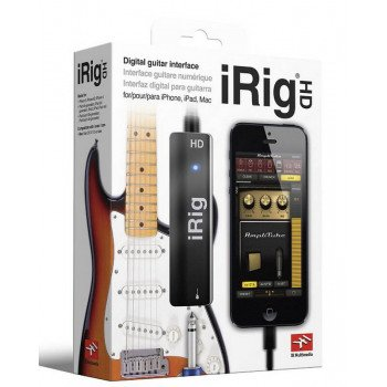 Гитарный процессор IK Multimedia iRig HD