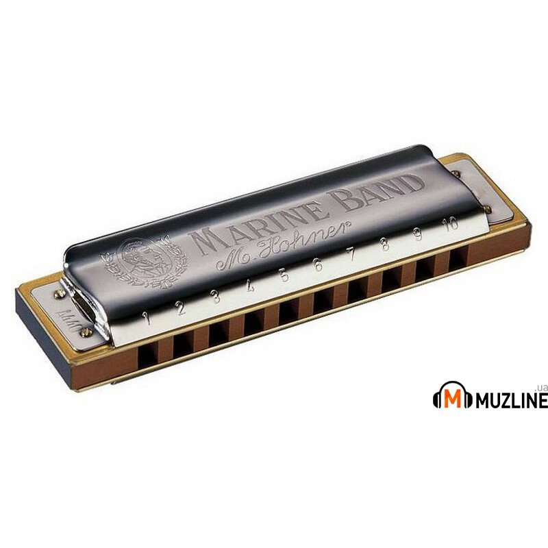 Губная гармошка Hohner Marine Band F-Major