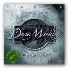 Струны для электрогитары Dean Markley 2504C Nickelsteel Electric Lthb7 10-60