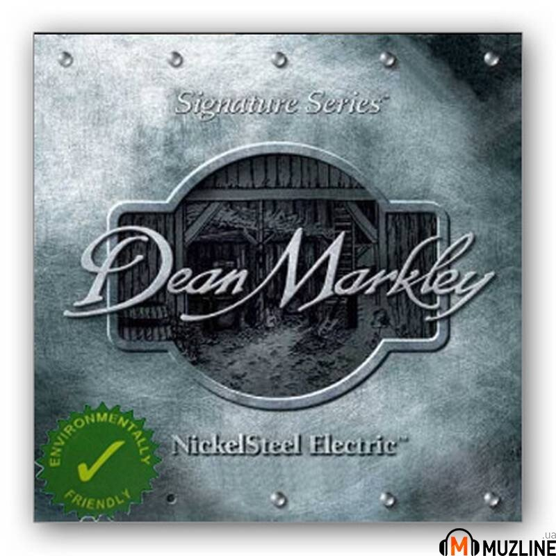 Струны для электрогитары Dean Markley 2503C Nickelsteel Electric Reg7 10-56