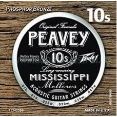 Струны для акустической гитары Peavey Acoustic Phosphor Bronze Mississippi String Sets 10's