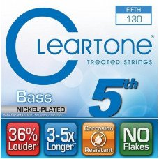 Cleartone 64-130 Bass Nickel-Plated 5-th String 130