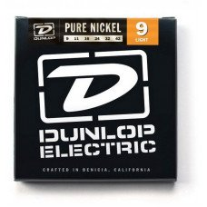 Струны для электрогитары Dunlop DEK0942 Pure Nickel Light 09-42