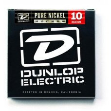 Струны для электрогитары Dunlop DEK1046 Pure Nickel Medium 10-46