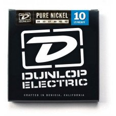 Струны для электрогитары Dunlop DEK1052 Pure Nickel Lt Heavy 10-52