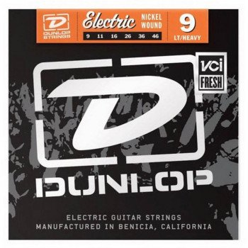 Струны для электрогитары Dunlop DEN0946 Electric Light Heavy Bottom 9