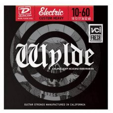 Струны для электрогитары Dunlop ZWN1060 Wylde Electric Custom Heavy 10-60