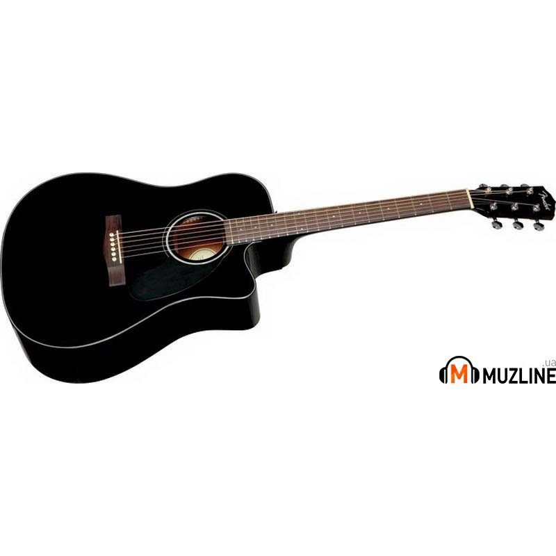 Электроакустическая гитара Fender CD-140SCE BK