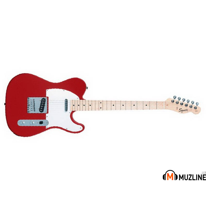 Электрогитара Fender Squier Affinity Telecaster MN METALLIC RED