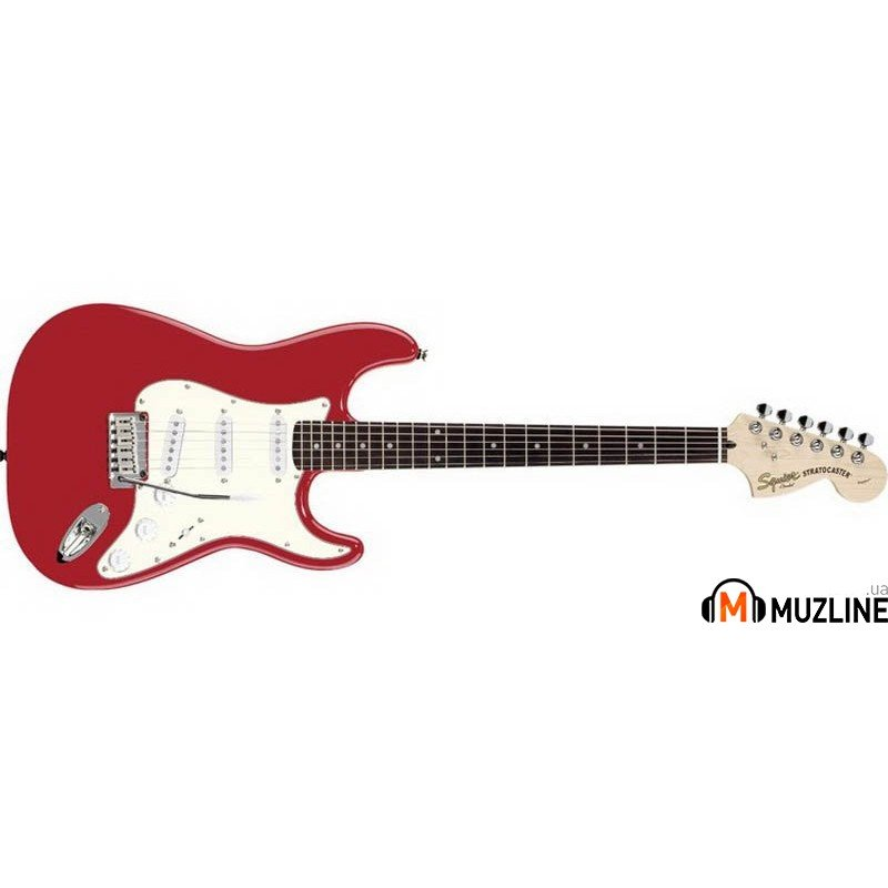 Электрогитара Fender Squier Standard Stratocaster RW Candy Apple Red