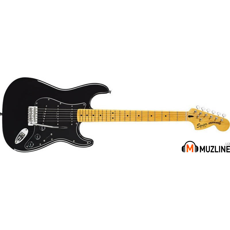 Электрогитара Fender Squier Vintage Modified 70s Stratocaster MN BK