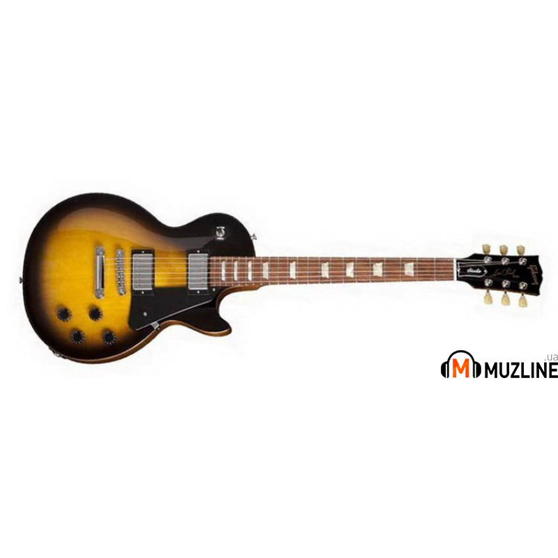 Электрогитара Gibson Les Paul Studio Vintage Sunburst Chrome Hardware