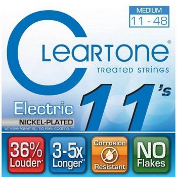Струны для электрогитары Cleartone 9411 Electric Nickel-Plated Medium 11-48