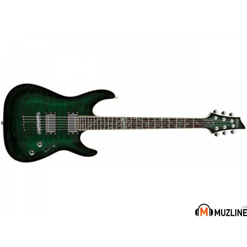 Электрогитара SCHECTER (Корея) C-1 Classic Deep Sea Green