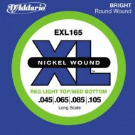 D'Addario EXL165 XL Reg Light Top Med Bottom 45-105
