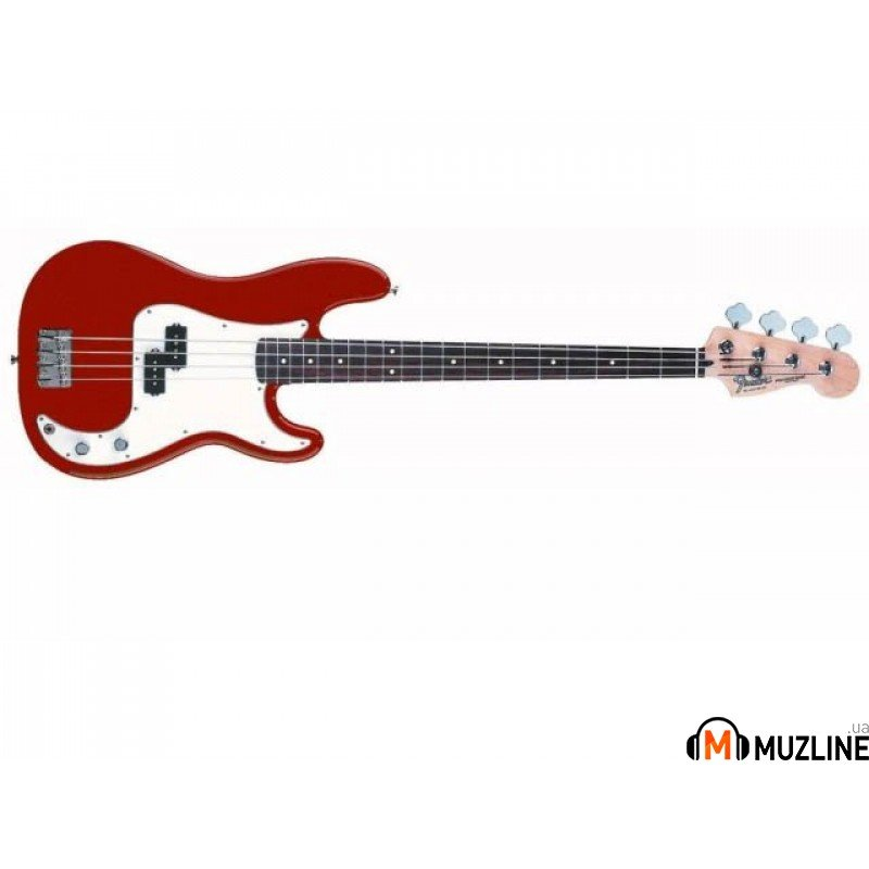 Бас-гитара Fender Standard Precision Bass MN Candy Apple Red