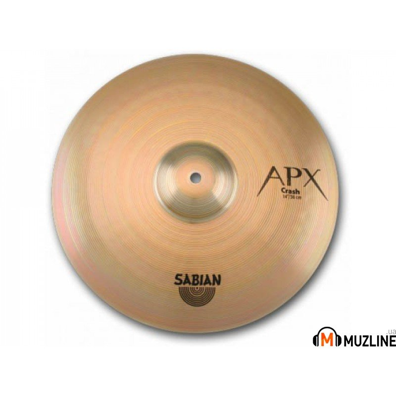 "Crash Sabian 16"" APX Crash"