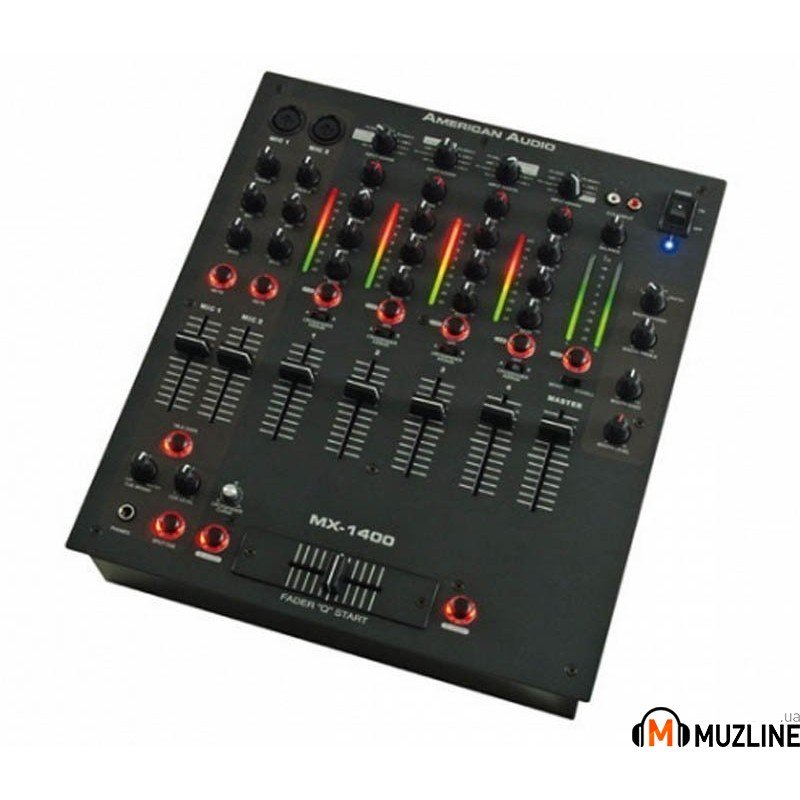 DJ микшер American Audio MX-1400