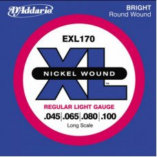 Струны для бас-гитары D'Addario EXL170 XL Regular Light 45-100