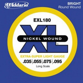 Струны для бас-гитары D'Addario EXL180 XL Extra Super Light 35-95