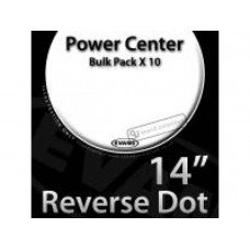 "Evans B14G1RD-B 14"" G1 Power Center Reverse Dot"