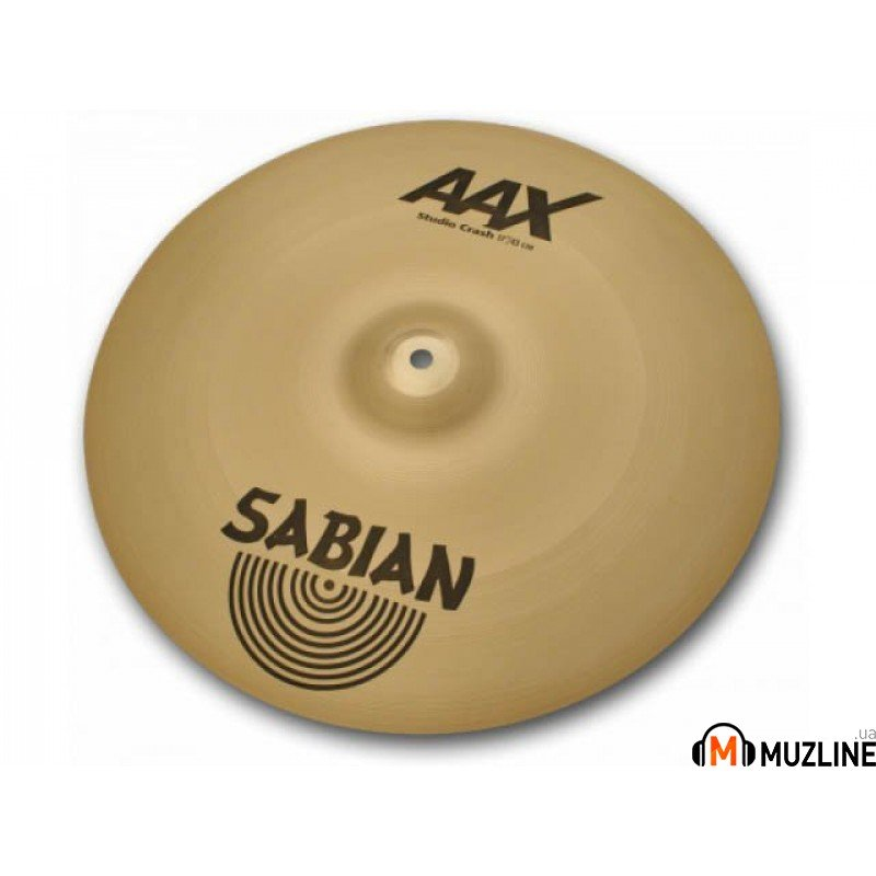 "Crash Sabian 17"" AAX Studio Crash"