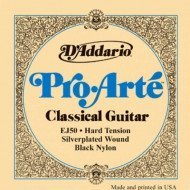 D'Addario EJ50 Pro Arte Black Treble Hard Tension
