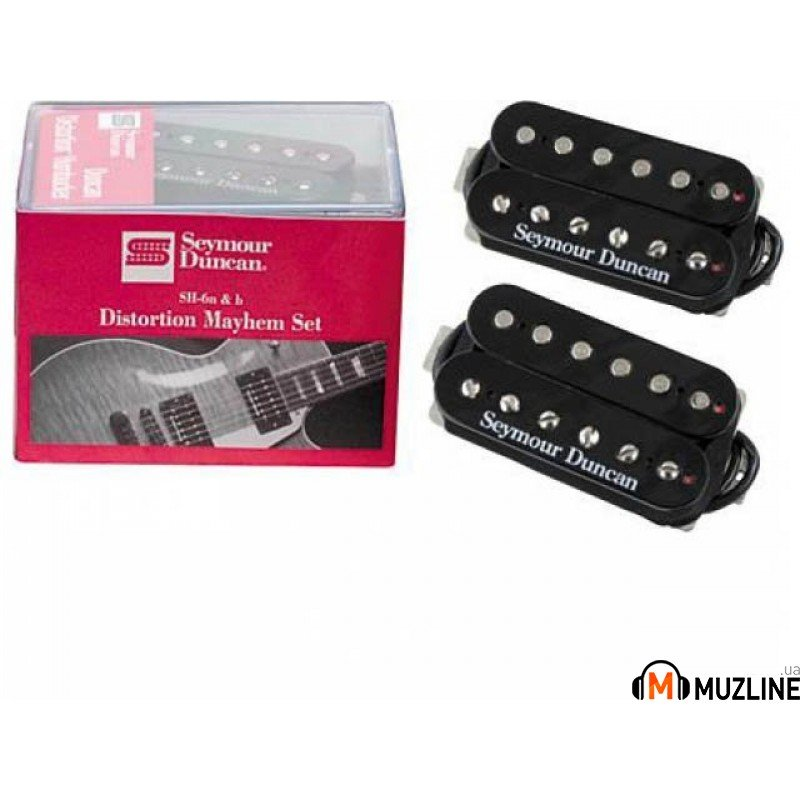 Звукосниматель Seymour Duncan DISTORTION MAYHEM SET