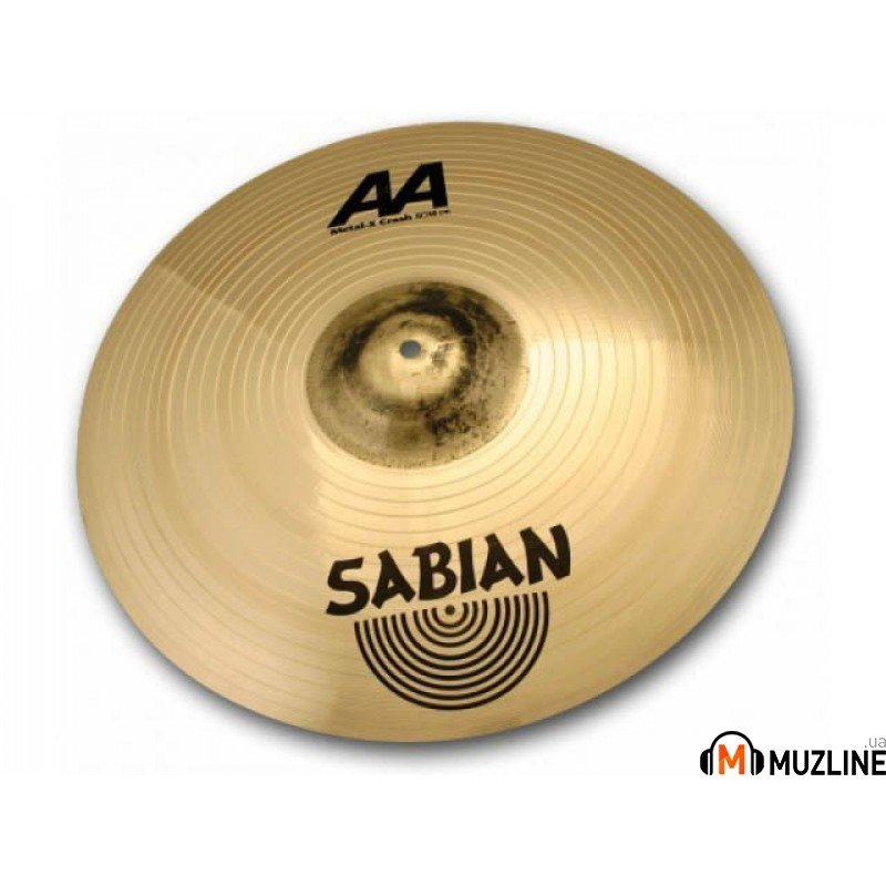 "Crash Sabian 18"" AA Metal-X Crash Brilliant"
