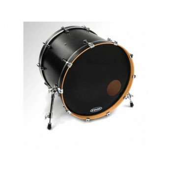 "Evans BD22RB 22"" EQ3 Resonant Black"