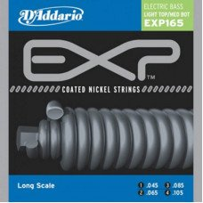 Струны для бас-гитары D'Addario EXP165 EXP Light Top / Med Bottom 45-105