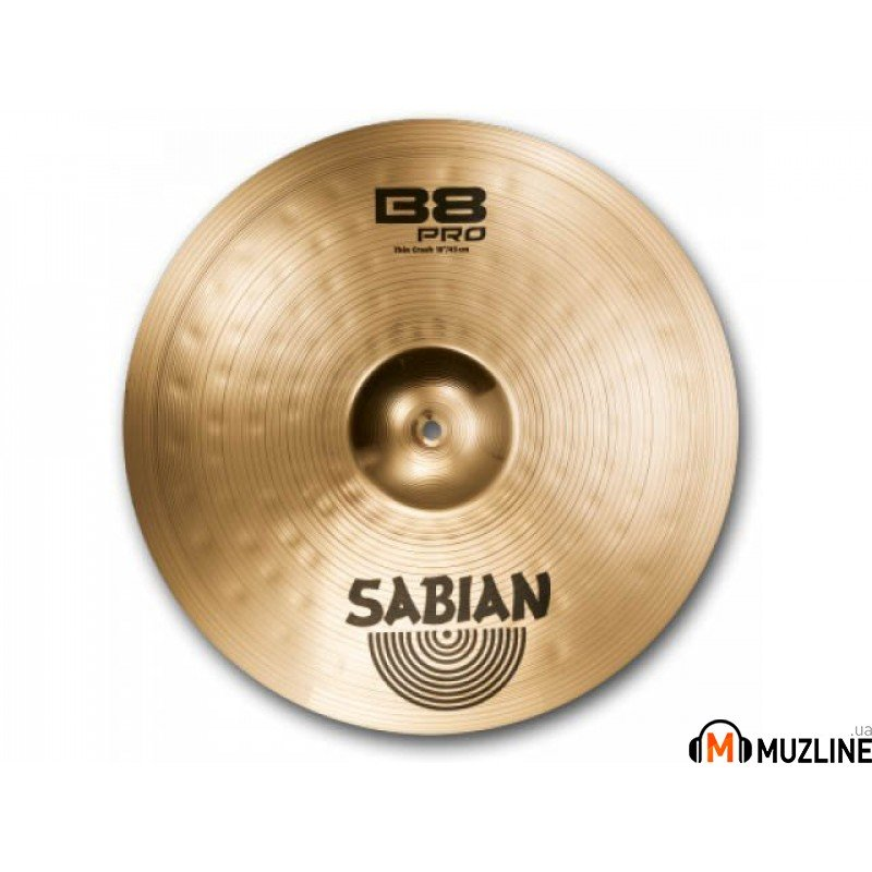 "Crash Sabian 18"" B8 PRO New Thin Crash  Brilliant"