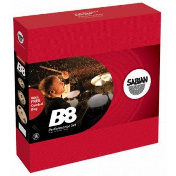 Sabian B8 Performance Set w/bag