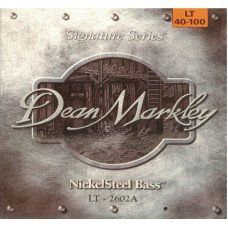 Струны для бас-гитары Dean Markley 2602A Nickelsteel Bass LT4 40-100
