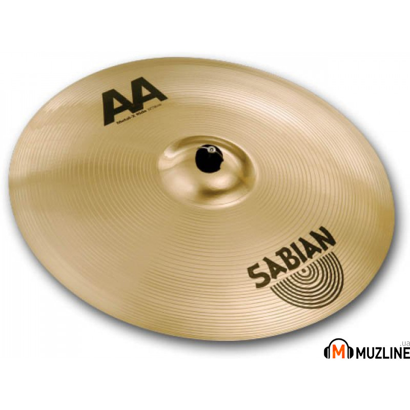 "Sabian 20"" AA Metal-X Ride Brilliant"