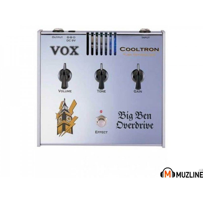 Гитарная педаль Vox Cooltron Big Ben Overdrive