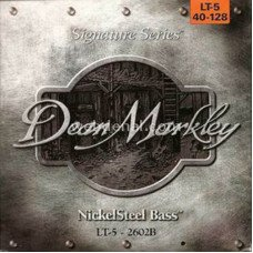 Струны для бас-гитары Dean Markley 2602B Nickelsteel Bass LT5 40-128