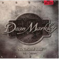 Струны для бас-гитары Dean Markley 2604A Nickelsteel Bass ML4 45-105