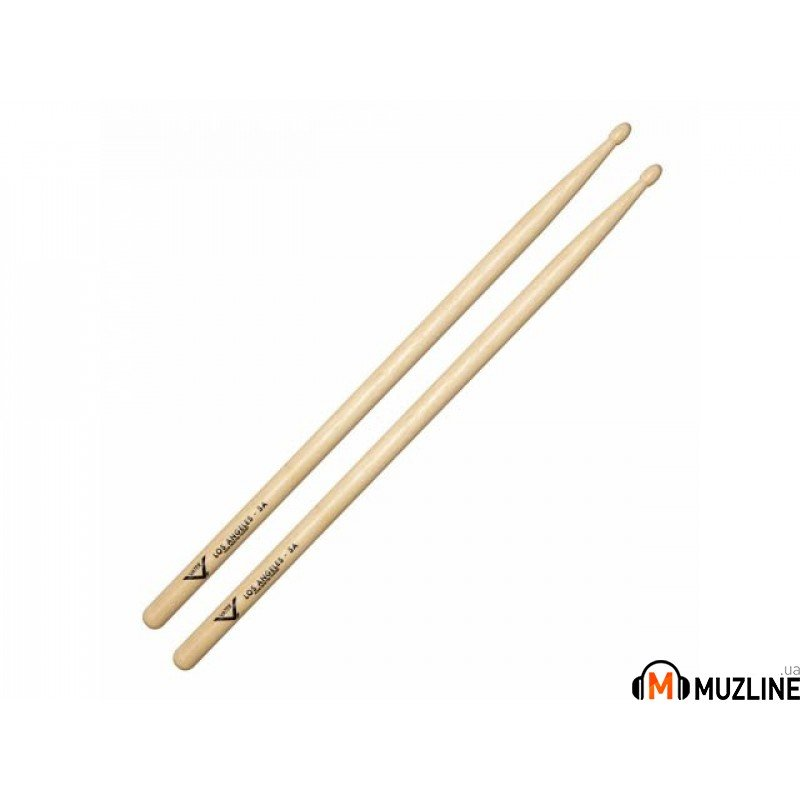 Барабанные палочки Vater VH5AW American Hickory Los Angeles 5A