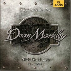 Струны для бас-гитары Dean Markley 2608A Nickelsteel Bass XL4 40-95