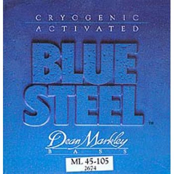 Струны для бас-гитары Dean Markley 2674 Bluesteel Bass ML4 45-105