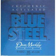 Струны для бас-гитары Dean Markley 2679 Bluesteel Bass ML5 45-128