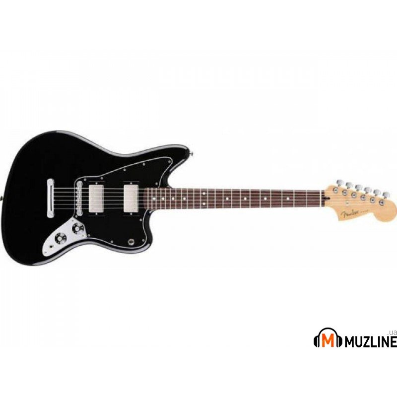Электрогитара Fender Blacktop Jaguar RW HH BLACK