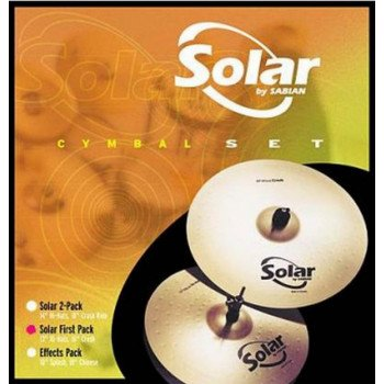 Sabian Solar First Pack