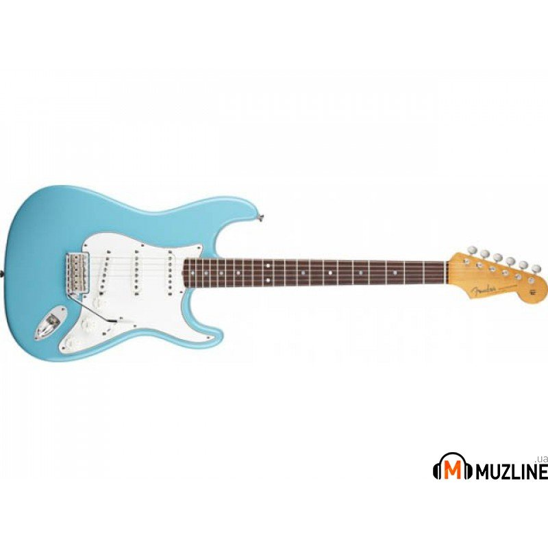 Электрогитара Fender Eric Johnson Stratocaster RW Tropical Turquoise