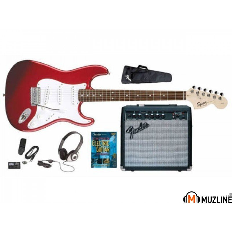 Электрогитара Fender Squier Affinity Special Stratocaster&Frontman 15 G AMP MRD