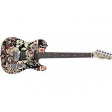 Электрогитара Fender Squier Obey Graphic Telecaster HS RW COLLAGE